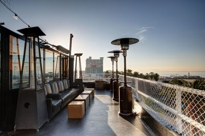 Onyx Rooftop Lounge Outdoor Sitting Area