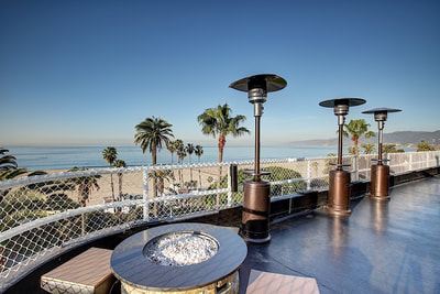 Onyx Rooftop Lounge Beach View